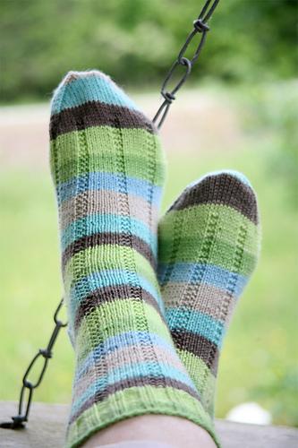 kristine queued Vanilla Latte Socks by Virginia Rose-Jeanes