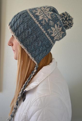 kristine favorited Split Back Snowflake Hat by Susan B. Anderson